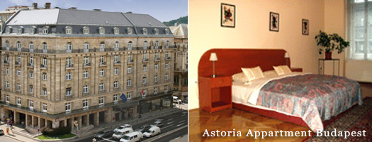 astoria Appartement Boedapest